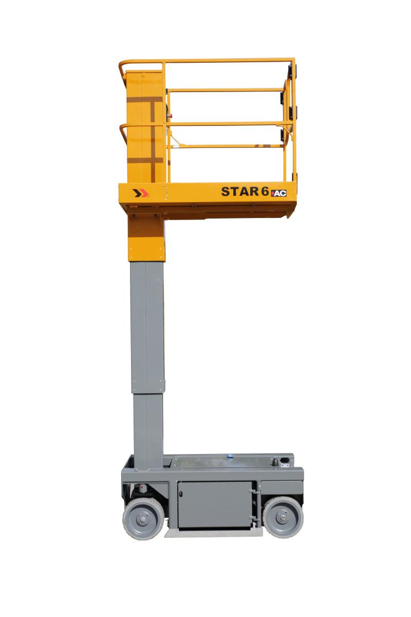 Piattaforma semovente verticale elettrica i ma di s r l for Piani di piattaforma di piattaforma